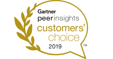 Gartner peerinsights Customer Choice 2019