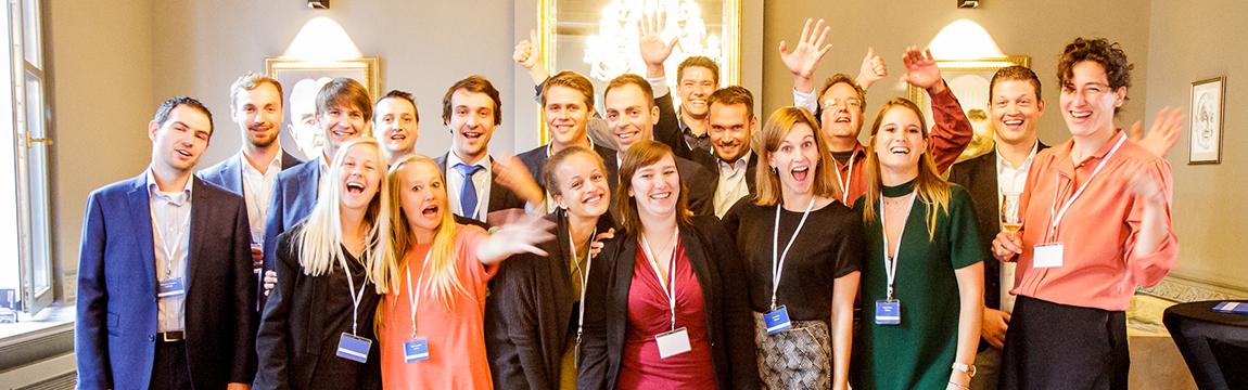 Équipe de TOPdesk lors de l'événement annuel avec nos clients