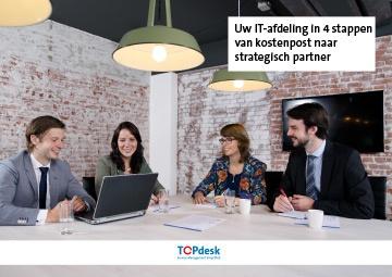 e-book strategischer it beleid in 4 stappen van kostenpost naar strategische partner