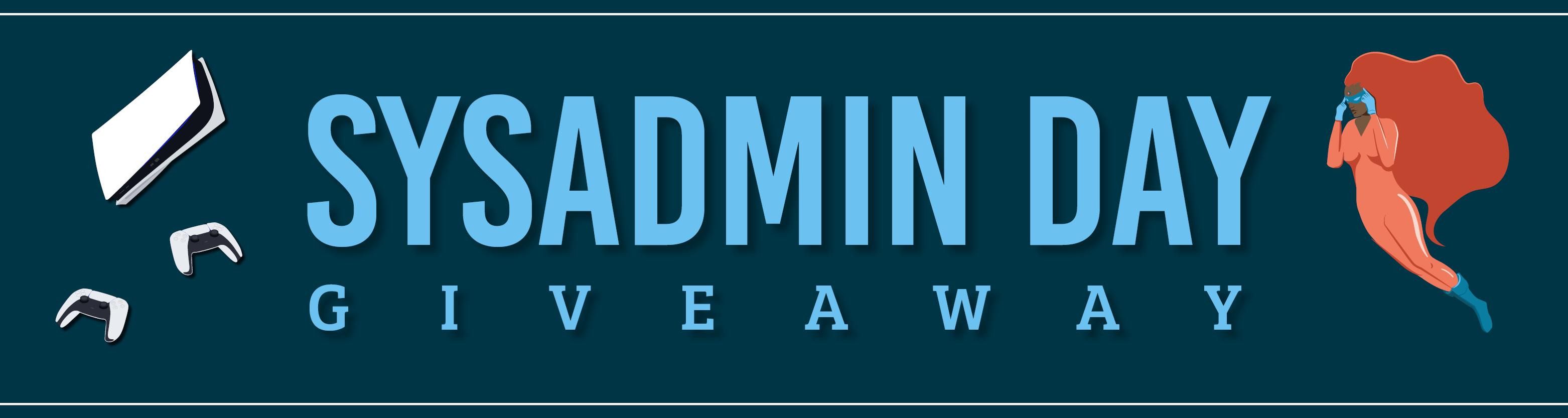 Sysadmin Giveaway Graphics - Hubspot banner